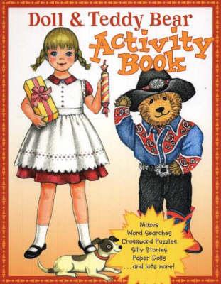 Doll & Teddy Bear Activity Book by Pune Dracker
