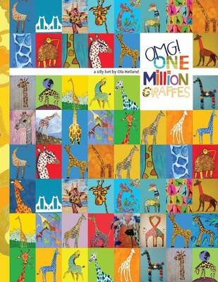 One Million Giraffes Coloring Book by Ola Helland