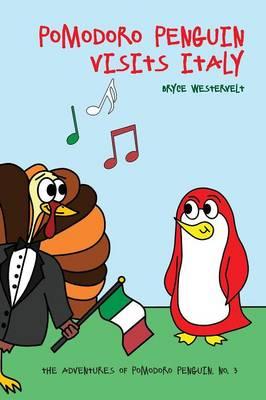 Pomodoro Penguin Visits Italy by Bryce Westervelt