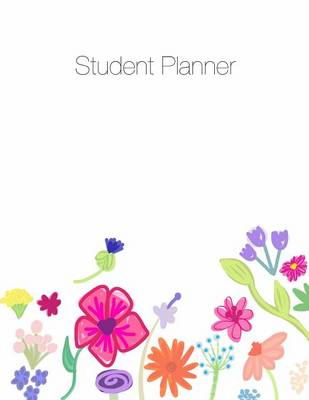 Student Planner, Organizer, Agenda, Notes, 8.5 X 11, Undated, Week at a Glance, Month at a Glance, 146 Pages by April Chloe Terrazas