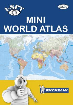 i-SPY Mini World Atlas by i-SPY