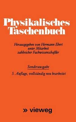 Physikalisches Taschenbuch by Hermann Ebert