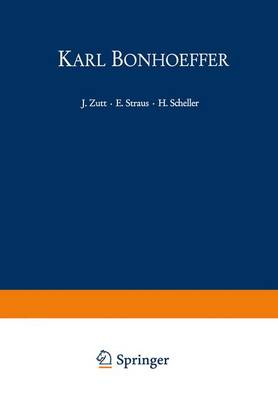 Karl Bonhoeffer by G. Zeller