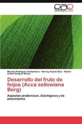 Desarrollo del Fruto de Feijoa (Acca Sellowiana Berg) by Mariela Rodr Guez Santamar a, Harvey Arjona D Az, H Ctor an Bal Campos Mosos