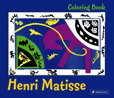 Coloring Book Henri Matisse by Anon