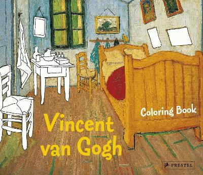 Coloring Book Vincent Van Gogh by Annette Roeder