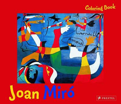 Coloring Book Miro by Annette Roeder