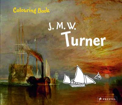 Turner Colouring Book by Annette Roeder