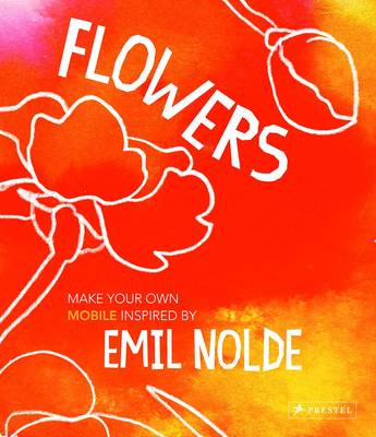 Flowers Make Your Own Mobile Inspired by Emil Nolde by Felicitas Horstschafer