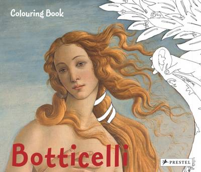 Colouring Book Botticelli by Prestel