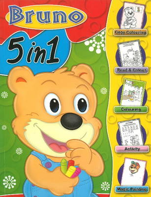 Bruno 5 in 1 by Sterling Publishers