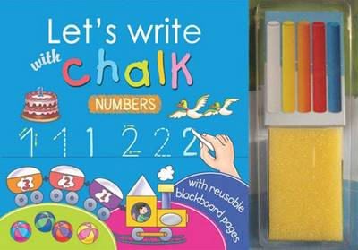 Let's Write with Chalk Numbers by Sterling Publishers