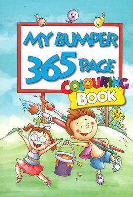 My Bumper 365 Page Colouring Book by B. Jain Publishers