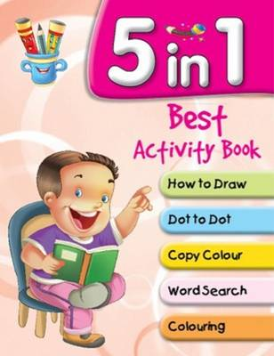 5 in 1 Best Activity Book by Pegasus