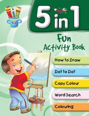 5 in 1 Fun Activity Book by Pegasus