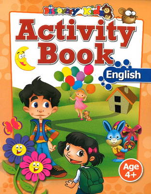 Activity Book: English Age 4+ by Discovery Kidz