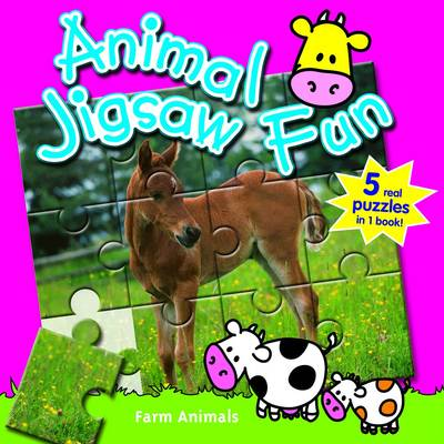 Baby Animals: Animal Jigsaw Fun by Yoyo Books