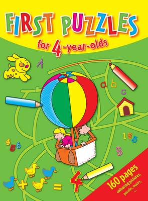 First Puzzles for 4-Year-Olds by
