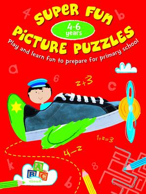 Picture Puzzle Fun 4-6 Years by