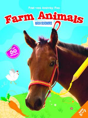 My Fold-Out Activity Fun: Farm Animals by