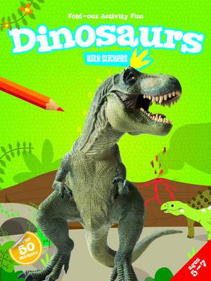 My Fold-Out Activity Fun: Dinosaurs by