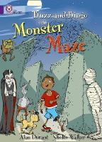 Collins Big Cat: Buzz and Bingo in the Monster Maze: Band 08/Purple by Alan Durant