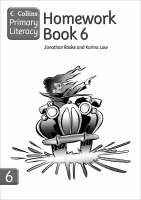 Collins Primary Literacy Homework Book 6 by Jonathan Rooke, Karina Law