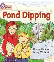 Pond Dipping Band 02b/Red B by Alison Hawes