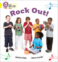 Collins Big Cat Phonics Rock Out: Band 03/Yellow by Janice Vale