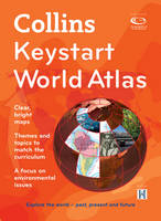 Collins Keystart World Atlas by Stephen Scoffham, Collins Maps