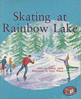 PM Silver Set B Fiction - Skating at Rainbow Lake (x6) by Annette Smith