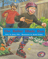 PM Purple Set A Fiction - The Roller Blade Run (x6) by Jenny Giles