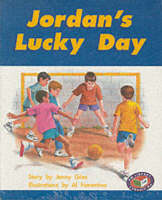 PM Turquoise Set C Fiction - Jordan's Lucky Day (x6) by Jenny Giles