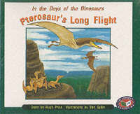 Pterosaur's Long Flight (x6) PM Orange Set B by Hugh Price