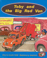 Toby and the Big Red Van PM Orange Set B Fiction (x6) by Annette Smith