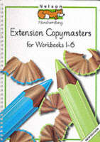 Nelson Handwriting - Extension Copymasters for Workbooks One-six by Louis Fidge, Peter Smith