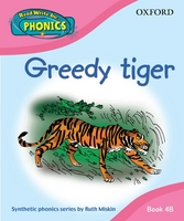 Read Write Inc. Home Phonics: Greedy Tiger: Book 4B by Ruth Miskin