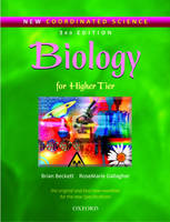 New Coordinated Science: Biology Students' Book For Higher Tier by Brian Beckett, Rose Marie Gallagher