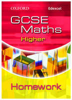 Oxford GCSE Maths for Edexcel: Higher Homework Book by Clare Plass