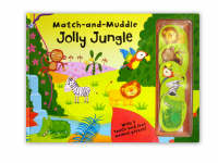 Match and Muddle: Jolly Jungle by Ian Cunliffe