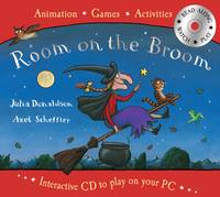 Room on the Broom Book and Interactive CD by Julia Donaldson