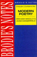Handley: Modern Poetry Modern Poetry by Graham Handley, Anne Dangerfield
