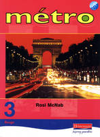 Metro 3 Rouge Pupil Book Euro Edition by Rosi McNab