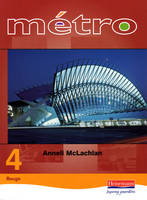 Metro 4 Higher Student Book by Anneli McLachlan