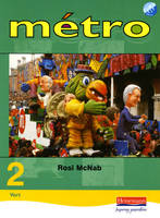 Metro 2 Vert Pupil Book Euro Edition by Rosi McNab