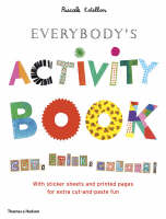 Everybody's Activity Book Cut, Stick, Colour! by Pascale Estellon
