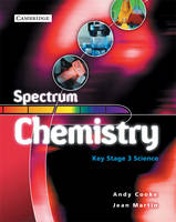 Spectrum Chemistry Class Book by Andy Cooke, Jean Martin