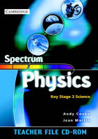 Spectrum Physics Teacher File CD-ROM by Andy Cooke, Jean Martin