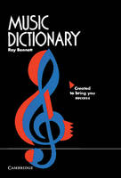Music Dictionary by Roy Bennett
