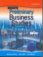 Cambridge Business Studies Preliminary by Tim Williams, Tony Nader, Marianne Hickey